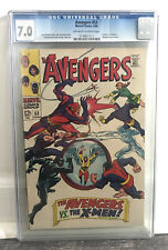 Avengers #53 CGC 7.0 Early X-Men vs Avengers Crossover Silver Age
