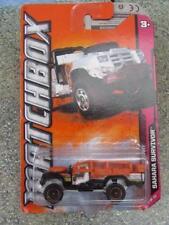 Coches, camiones y furgonetas de automodelismo y aeromodelismo Matchbox Land Rover de escala 1:64