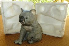 Koala Bear Royal Heritage Bisque China Porcelain Figurine Australia w/ Styrofoam