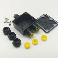 Waterproof IP68 Outdoor 3 Way Junction Box Electrical Cable Wire Connector