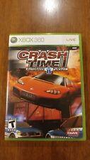 Crash Time: Autobahn Pursuit (Microsoft Xbox 360, 2008) VERY GOOD W/MANUAL!
