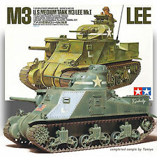 TAMIYA 1/35 M3 LEE MKI US MEDIUM TANK KIT 35039