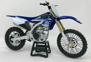 YAMAHA YZ450F DIE-CAST MODEL 1:12 TOY COLLECTABLE MOTOCROSS DIRTBIKE MX OFFROAD