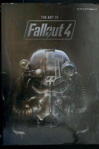 JAPAN The Art of Fallout 4 (Art Book)