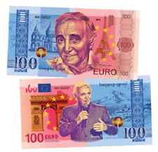 France 100 Euro 2019 UNC Polymer Banknote - Charles Aznavour