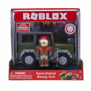 SEALED Roblox: Apocalypse Rising 4x4 (Jeep, Figure & Weapon) EXCLUSIVE ITEM CODE