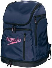 Speedo Swimming Swimmer's Pool Bag Back Pack SD96B01 Navy Japan DHLFast Ship NEW