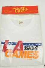 Vintage 1984 LA Los Angeles Olympic Games T-Shirt Men Size Large