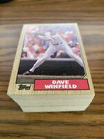 (100) 1987 Topps Dave Winfield #770 New York Yankees NM-MT+