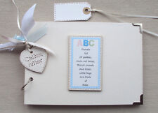 PERSONALISED   *BABY BOY * .. PHOTO ALBUM/SCRAPBOOK/MEMORY BOOK. . A5 SIZE.