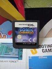 Nintendo DS:Sonic Chronicles - La Confrérie des Ténèbres [TOP SEGA] SEUL - Fr