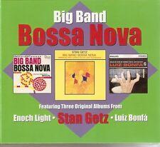 Big Band Bossa Nova - Enoch Light/Stan Getz/Luis Bonfa (3CD 2013) NEW/SEALED