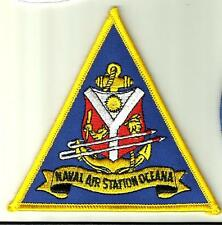 NAVAL AIR STATION OCEANA U.S.NAVY PATCH VIRGINIA USA WAR COMBAT FIGHTERJET PILOT