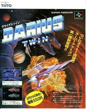 Darius Twin Ys III Wanderers from Ys SFC JAPANESE GAME MAGAZINE PROMO CLIPPING
