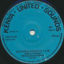 Rare Modern DRUM MACHINE BENGA kenya KIKUYU Joseph Kamaru Nu City Sound HEAR IT!