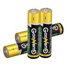 4pcs Gaoneng Energy AAA Alkaline Batteries 1.5v Bulk Single Use Batteries