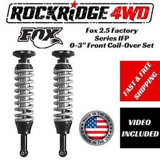 """Fox 2.5 Factory Series IFP 0-2"""" Front Coil-Overs for 04-08 Ford F-150 4WD PAIR"""