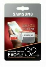 Samsung Evo Plus 32GB Micro SDHC Class 10 UHS-1 Full HD Card With SD Adapter