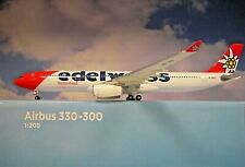 Herpa Wings 1 200 Airbus A330-300 Edelweiss Hb-jhq 558129-001