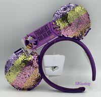 Disney Epcot Festival Of The Arts 2020 Figment Mickey Minnie Ears Headband New