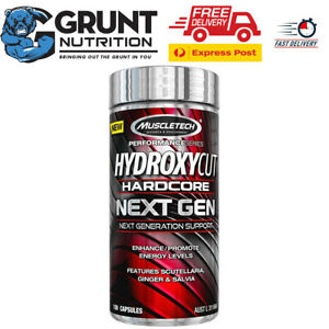 Muscletech Hydroxycut Hardcore Next Gen 100 Caps