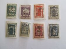 Fiume #184//92 Overprints on Stamps of 1922, Mint/F/HR, 1924, Scarce