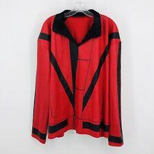 Rubies Michael Jackson THRILLER Red Jacket Costume Adult X-Large