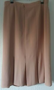 WINDSMOOR PINK PART PLEATED SKIRT FULLY LINED  UK 12 IN LOVELY CONDITION