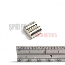 10 Imanes 6x2 mm Imán De Neodimio Disco Redondo Pequeño 6mm diámetro x 2mm Artesanía Nevera