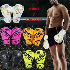 Venum Contender Hook and Loop Training Boxing Gloves - White/Gold 16 oz.