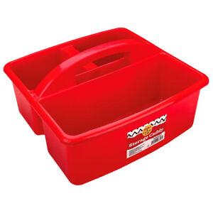 Storage Caddy Red, Art & Craft, Brand New