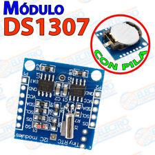 DS1307 RTC modulo reloj con pila I2C Arduino micro pic bateria tiempo real