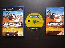 TONY HAWK'S PRO SKATER 4 : JEU Sony PLAYSTATION 2 PS2 (Activision COMPLET suivi)