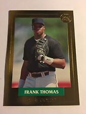 1992 FRANK THOMAS FRONT ROW-PURE GOLD CARD #2 OF 3-SOLD SINGLE FROM 3 CARD SET