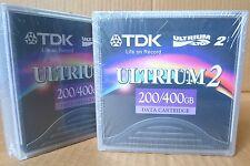 TDK LTO ULTRIUM 2 200/400GB Data Cartridge D2405-LTO2