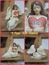 ANGELO ANGEL FAIRY FEES ELFEN FATA CON CUORE BELIEVE SIMIL VERONESE NO LES ALPES