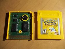 Pokemon Yellow Special Pikachu Edition  New Save Battery  Authentic
