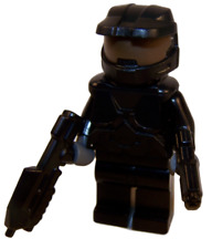 **NEW** LEGO Custom - BLACK HALO SPARTAN - Master Chief Xbox Game Minifigure