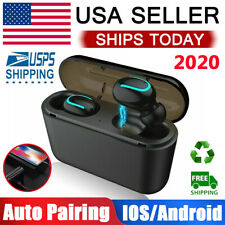 New listing Bluetooth Wireless Earbuds Headset For Apple iPhone Android Samsung Google