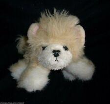 VINTAGE 1993 TYCO PUPPY PUPPY PUPPIES TAN WHITE STUFFED ANIMAL PLUSH TOY PUP DOG