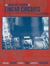 The Analysis and Design of Linear Circuits, Good Books