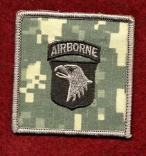 101st Airborne Division Helmet Cover Patch -  101st AB / Screaming Eagles