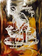 Whittier California Centennial Glass Mason Barefoot Boy Statue Drinking Mug