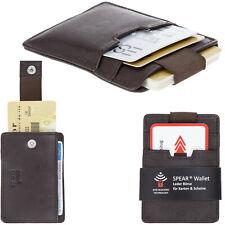 Geldbörse Kartenbörse Leder Spear Wallet RFID Herren Kartenetui Visitenkarten DB