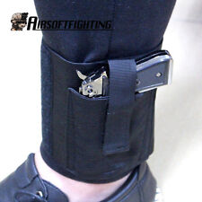 Concealed Carry Universal Right/Left Pistol Ankle Leg Gun Holster LCP LC9 PF9