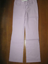 PENGUIN by MUNSINGWEAR lady lilac boot cut trousers 12 RP£75 new cotton