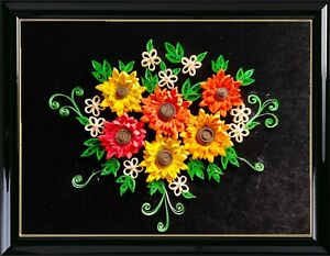 3D Quilling/paper filigree art for decoration of your home office gift