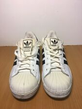 Adidas Superstar Men's Size 8 White Black Vintage 2001