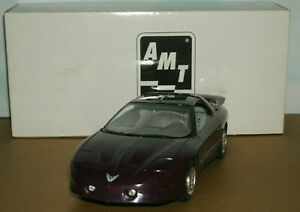1/25 Scale 1995 Pontiac Firebird Trans Am Plastic Promo Car - AMT Ertl 6560EO