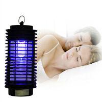 Tueur Moustique UV Lampe Anti-moustique Piège à Insectes Électrique Chambre Noir